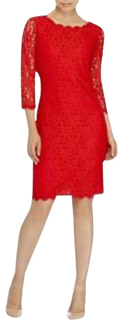 Item - Poppy Red Mid-length Night Out Dress Size 2 (XS)