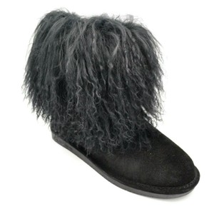 BEARPAW Suede Black Boots
