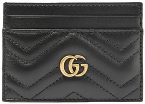 Gucci New GG Quilted leather gucci cardholder wallet card case