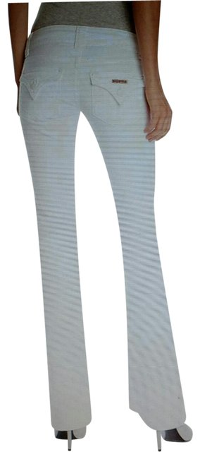 Item - White Light Wash Signature Boot #w170dlw Flare Leg Jeans Size 26 (2, XS)