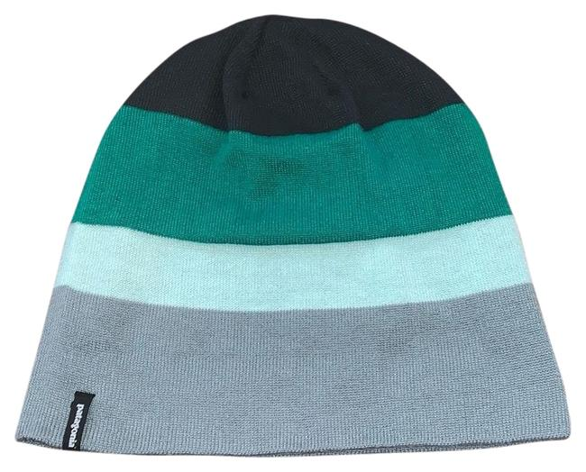 Item - Green Stripe Beanie Hat
