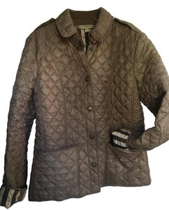 Burberry Quilted Nova Check Kencott Military Jacket