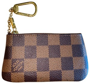 Louis Vuitton Damier Ebene Key Pouch Amazing Condition Cles Zippy Card Change Holder