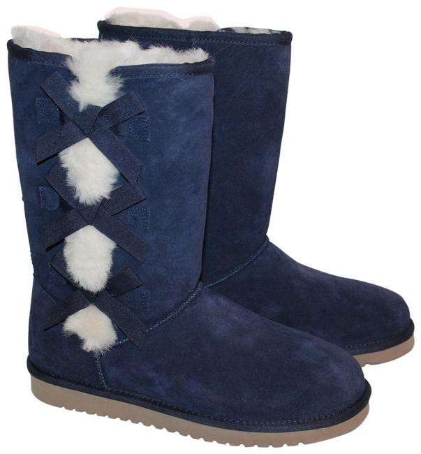 Item - Blue Koolaburra By Tall Suede Boots/Booties Size US 7 Regular (M, B)