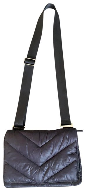 Item - Crossbody Gray Nylon Messenger Bag