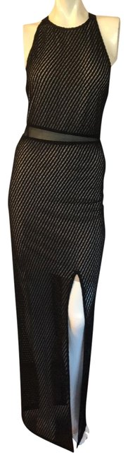 Item - Black And By Stacey Bendet Long Cocktail Dress Size 6 (S)