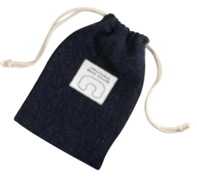 J.Crew Navy Blue Inflatable Travel Neck Pillow Tech Accessory J.Crew Navy Blue Inflatable Travel Neck Pillow Tech Accessory Image 1