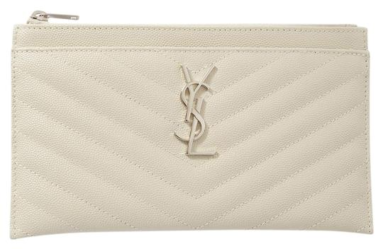 Preload https://img-static.tradesy.com/item/26969765/saint-laurent-monogramme-quilted-textured-leather-pouch-wallet-0-1-540-540.jpg