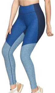 Outdoor Voices Colorblock Ankle Mid Rise blue Leggings
