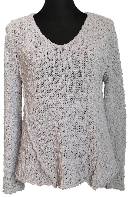 Preload https://img-static.tradesy.com/item/26970144/olivaceous-open-knit-gray-sweater-0-1-650-650.jpg