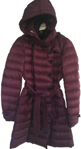 Burberry Puffer Down Trench Parka Hood Coat