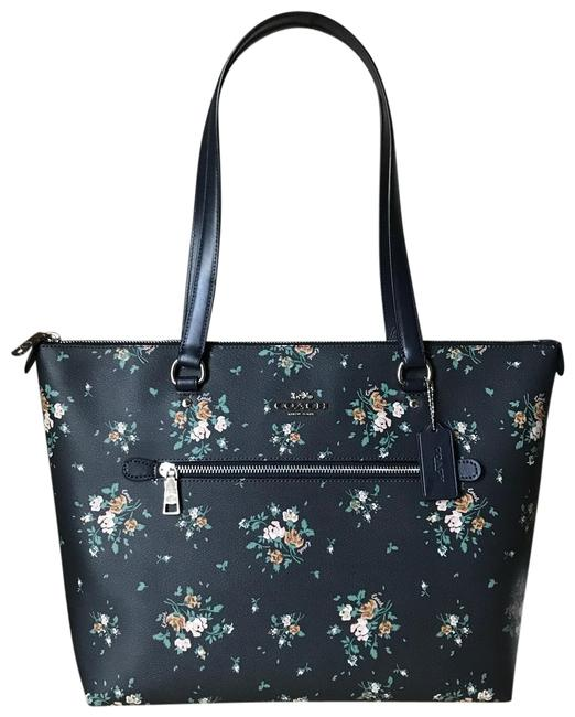 Coach 91023 Rose Bouquet Gallery Tote Coach 91023 Rose Bouquet Gallery Tote Image 1