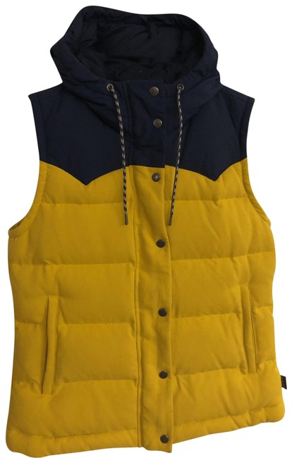 Item - Yellow and Navy Bivy Vest Size 4 (S)