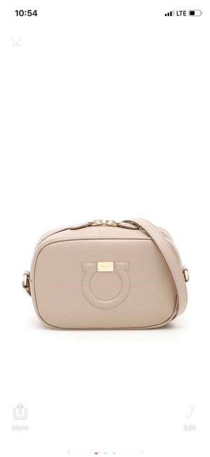 Salvatore Ferragamo Mini Leather City Cumin Shoulder Bag Salvatore Ferragamo Mini Leather City Cumin Shoulder Bag Image 1