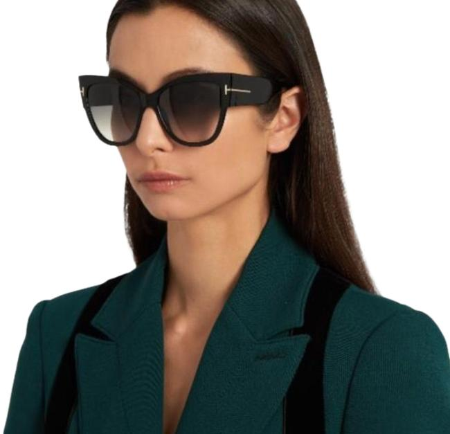 "Item - Black ""Anoushka"" Tf371 Cat Eye Sunglasses"