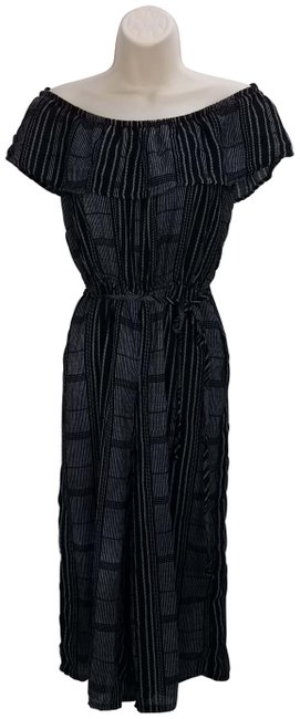 Item - Black Romper Long Casual Maxi Dress Size 4 (S)
