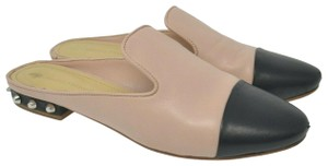 Marc Fisher Comfort Leather Multicolor Mules