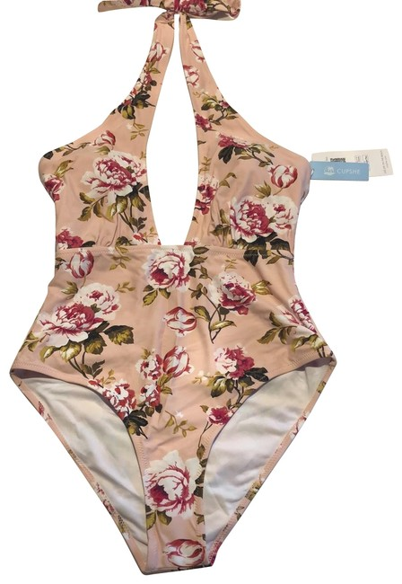 Item - Rose Gold/Soft Pink Live Life On The Beach One-piece Bathing Suit Size 8 (M)