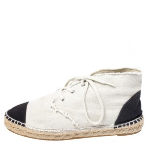 Chanel Canvas Espadrille Leather Athletic
