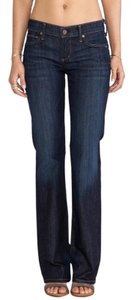 Citizens of Humanity Dark Wash Mid-rise Boot Cut Jeans-Dark Rinse