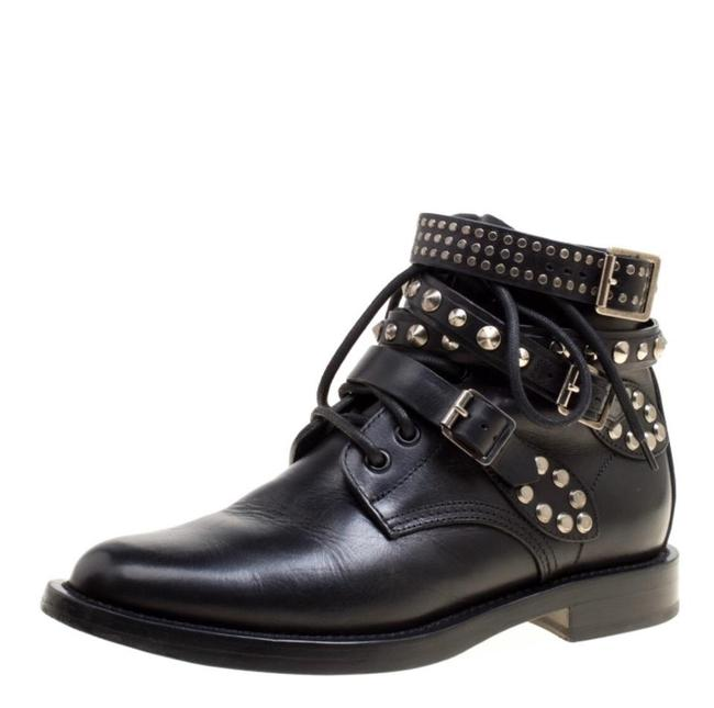 Item - Black Studded Ranger Boots/Booties Size EU 36 (Approx. US 6) Regular (M, B)