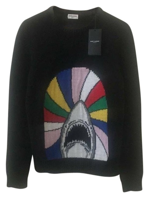 Item - Shark Black and Multicolor Sweater