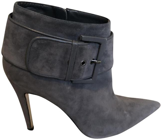 Item - Gray Suede Boots/Booties Size EU 38 (Approx. US 8) Regular (M, B)