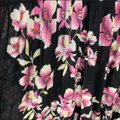 Free People Black Garden Party Long Casual Maxi Dress Size 2 (XS) Free People Black Garden Party Long Casual Maxi Dress Size 2 (XS) Image 6
