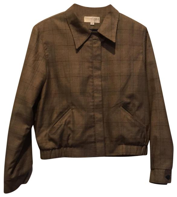 Item - Brown Tones English Countryside Jacket Size 4 (S)