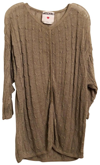 Item - XL Linen Oversized / Dress Size Taupe Sweater