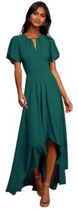 Green Maxi Dress by Ali & Jay