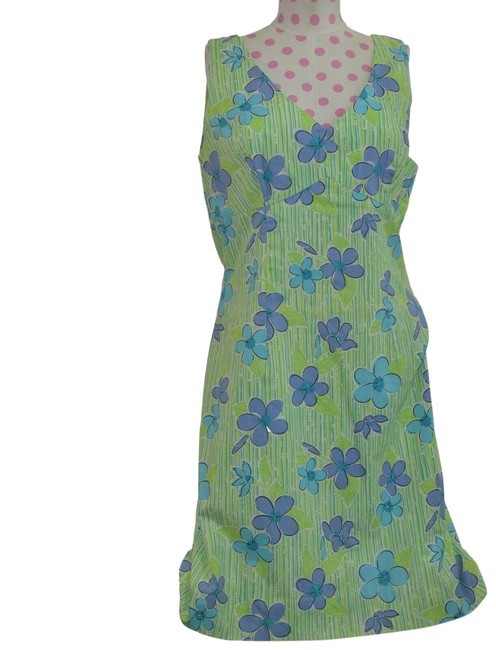Item - Green Women's Floral Sleeveless Fashion Long Casual Maxi Dress Size 12 (L)