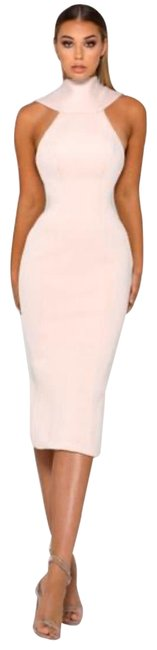 Item - Artisa Nude Mid-length Formal Dress Size 6 (S)