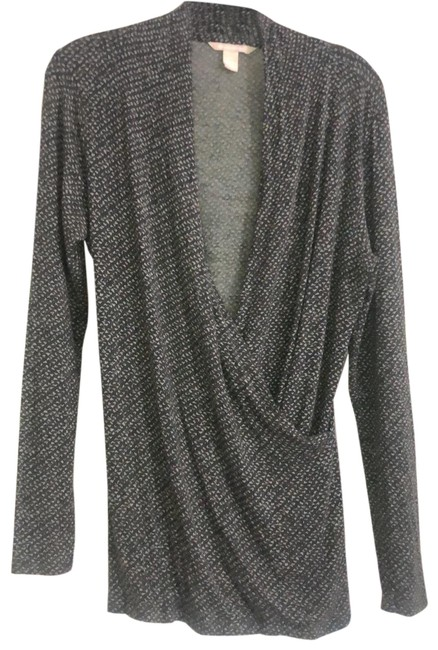 Item - Gray Wrap Front Tunic Size 10 (M)