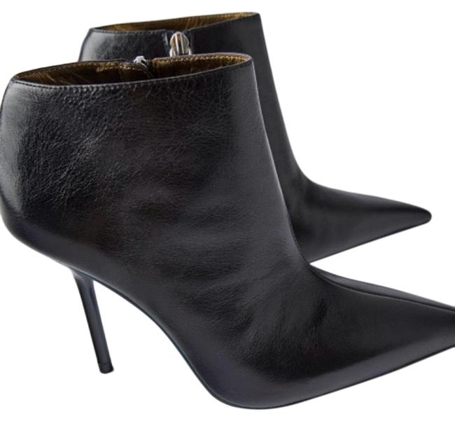 Item - Black Box New Without Collection Leather Stiletto Ankle Boots/Booties Size US 8 Regular (M, B)