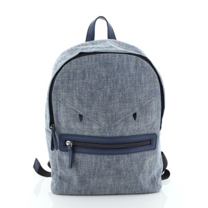 Fendi Denim Backpack