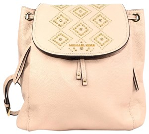 Michael Kors Leather Book Backpack