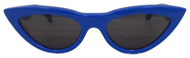 Item - Blue Cat Eye Sunglasses