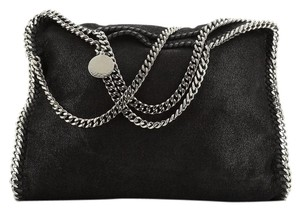 Stella McCartney Textile Tote in Black