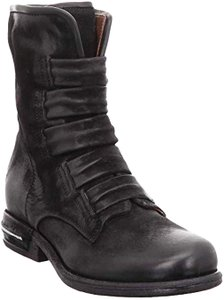 A.S. 98 Leather Black Boots