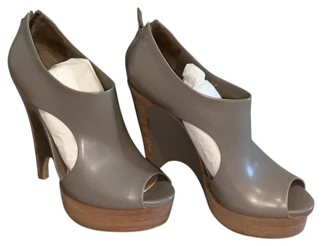 Item - Grey Imoralez Wedges Size EU 38 (Approx. US 8) Narrow (Aa, N)
