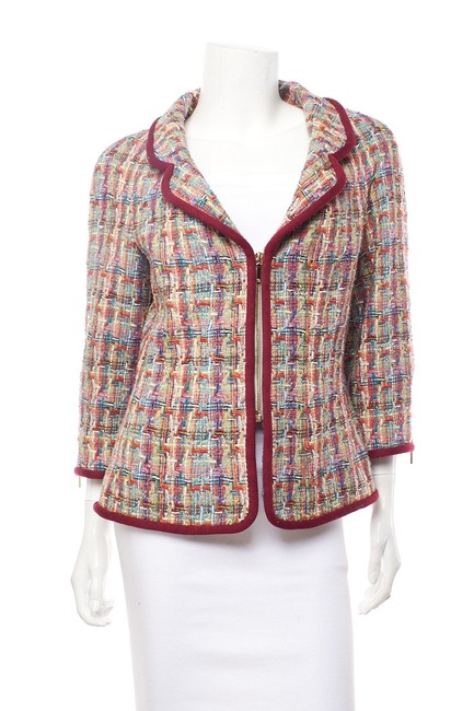Item - Multicolor I Zip- Up Jacket 42 Blazer Size 10 (M)