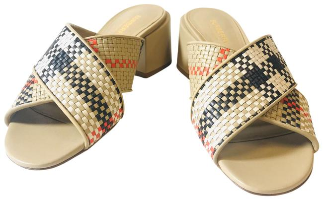 Item - Archive Beige Vintage Woven Leather Mules/Slides Size EU 38 (Approx. US 8) Regular (M, B)