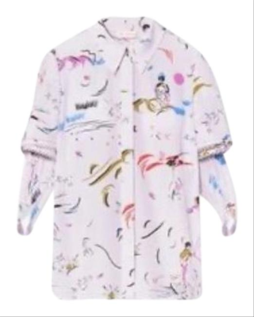 Item - Purple Day Dreamer Collection Blouse Size 8 (M)
