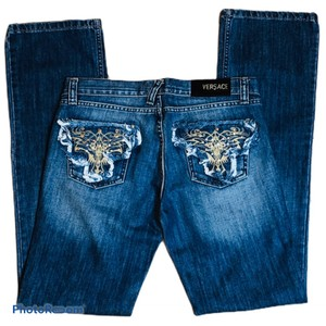 Versace Jeans Collection Boot Cut Jeans-Medium Wash