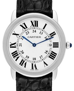 Cartier Cartier Ronde Solo Large Steel Unisex Watch W6700255 Box Papers