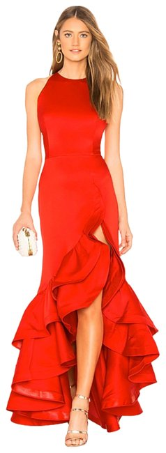 Item - Red Frida Flame Gown Long Formal Dress Size 0 (XS)