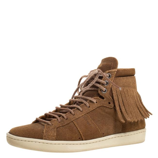 Item - Brown Suede Classic Court Fringe 35 Sneakers Size US 4.5 Regular (M, B)