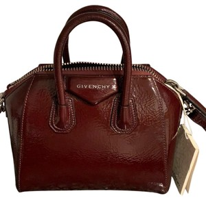 Givenchy Satchel in aubergine color