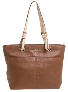 MICHAEL Michael Kors Leather Nylon Tote in Brown